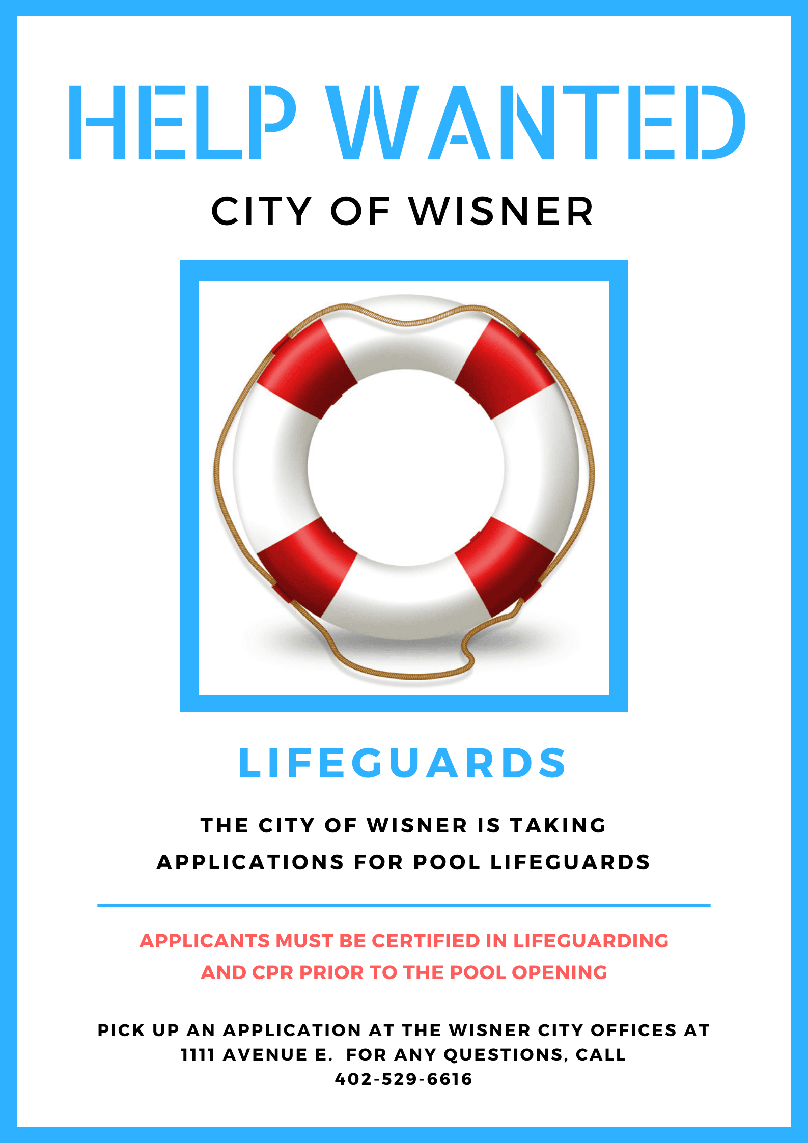 Lifeguard Openings
